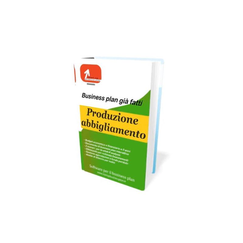 Business plan produzione abbigliamento
