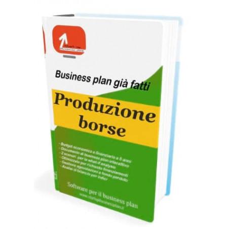 Business plan produzione borse