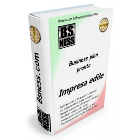 Software business plan impresa edile