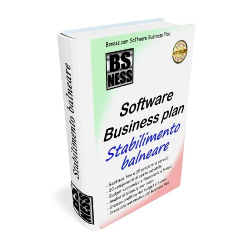 Software business plan per stabilimento balneare