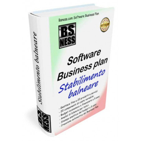 Software business plan per stabilimento balneare