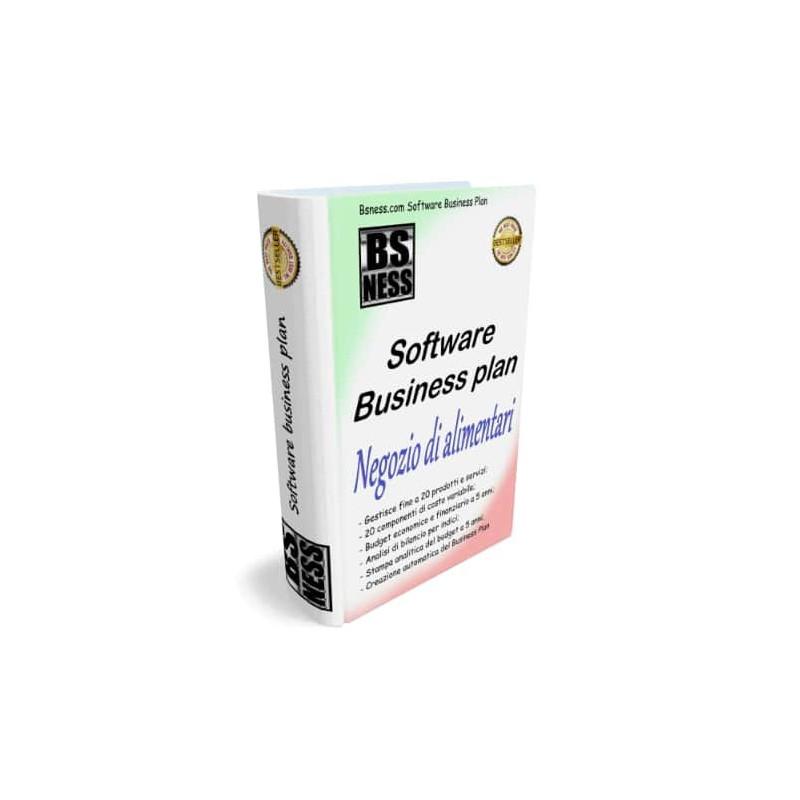 Software business plan negozio di alimentari
