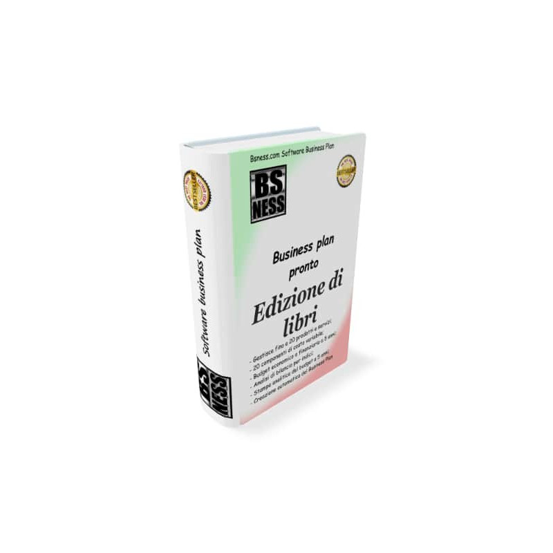 business plan casa editrice