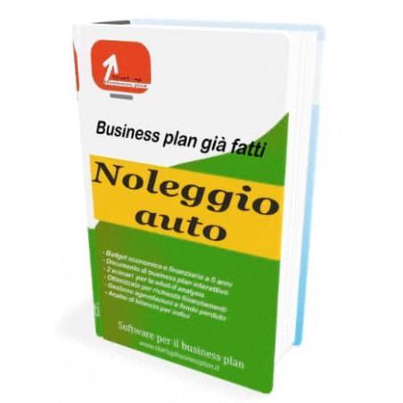Business plan Noleggio auto di Start-up