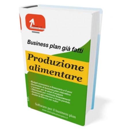 Business plan produzione alimentare di Start-up