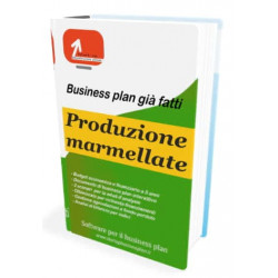 Produzione marmellate - Start-up Business plan