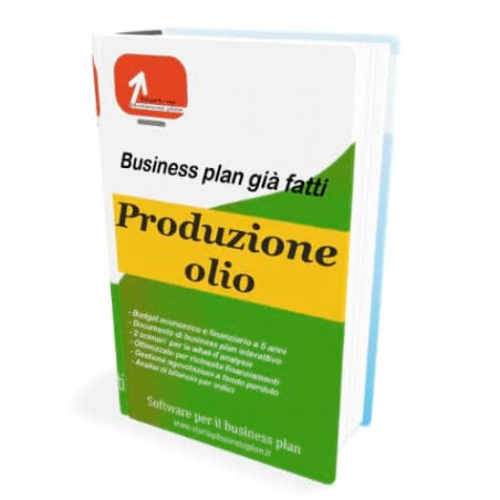 Business plan produzione olio