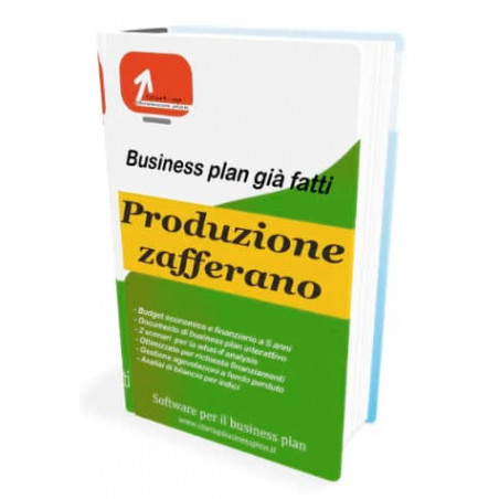 Business plan produzione zafferano