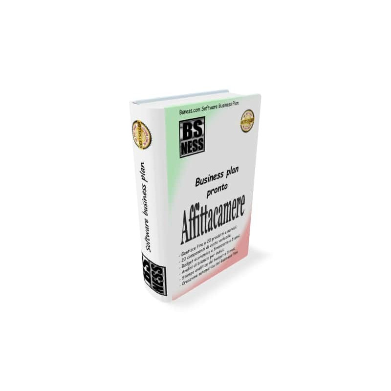 Software business plan affittacamere