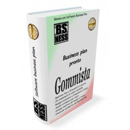 business plan Gommista