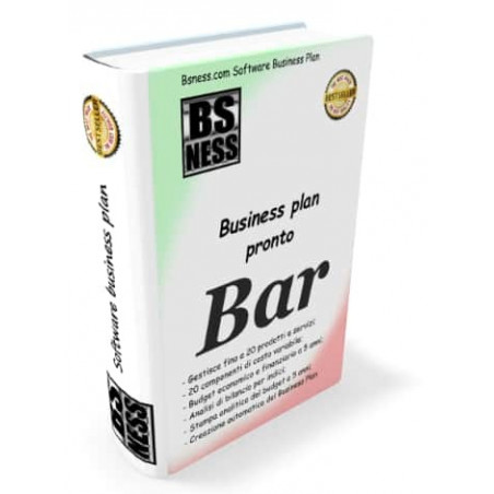software business plan bar