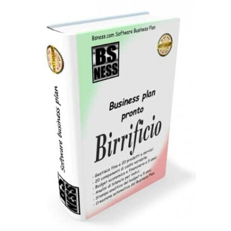 Software business plan Birrificio