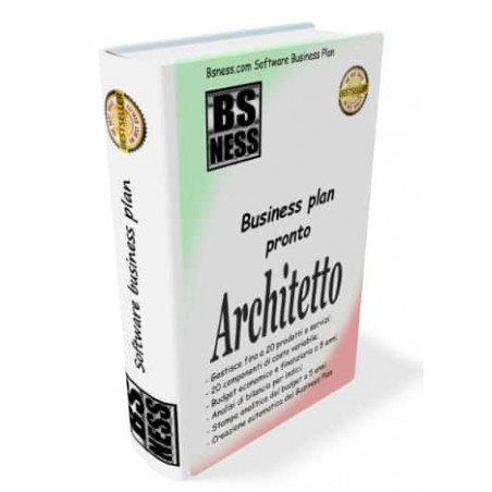 Business plan architetto