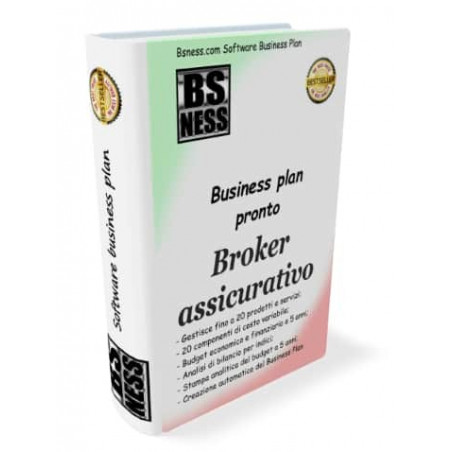 business plan broker assicurativo