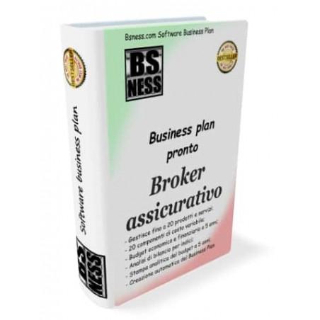 business plan broker assicurativo