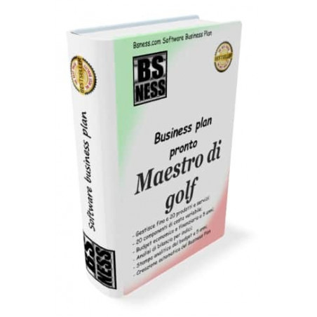 Business plan maestro di golf
