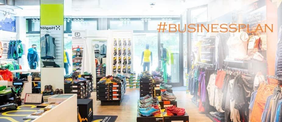 Business plan negozio articoli sportivi