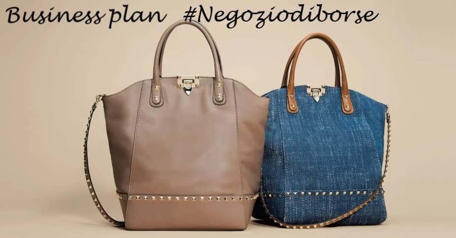 Business plan negozio di borse