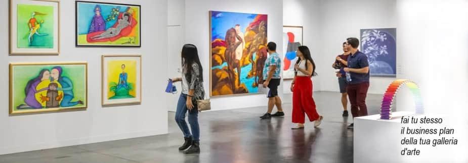 Analizza l'esempio business plan galleria d'arte