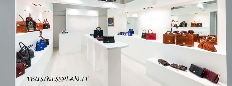 Esempio business plan negozio di borse